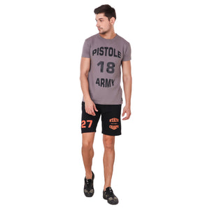 PISTOLE State Champs Men's Fleece Shorts - Black