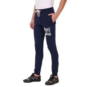 Pistole State Champs Navy Blue Cotton Jogger Sweatpants