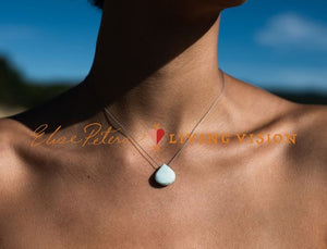 Chalcedony Single Drop Necklace