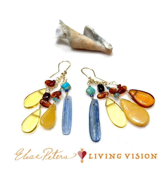 Dreaming In The Sun Earrings