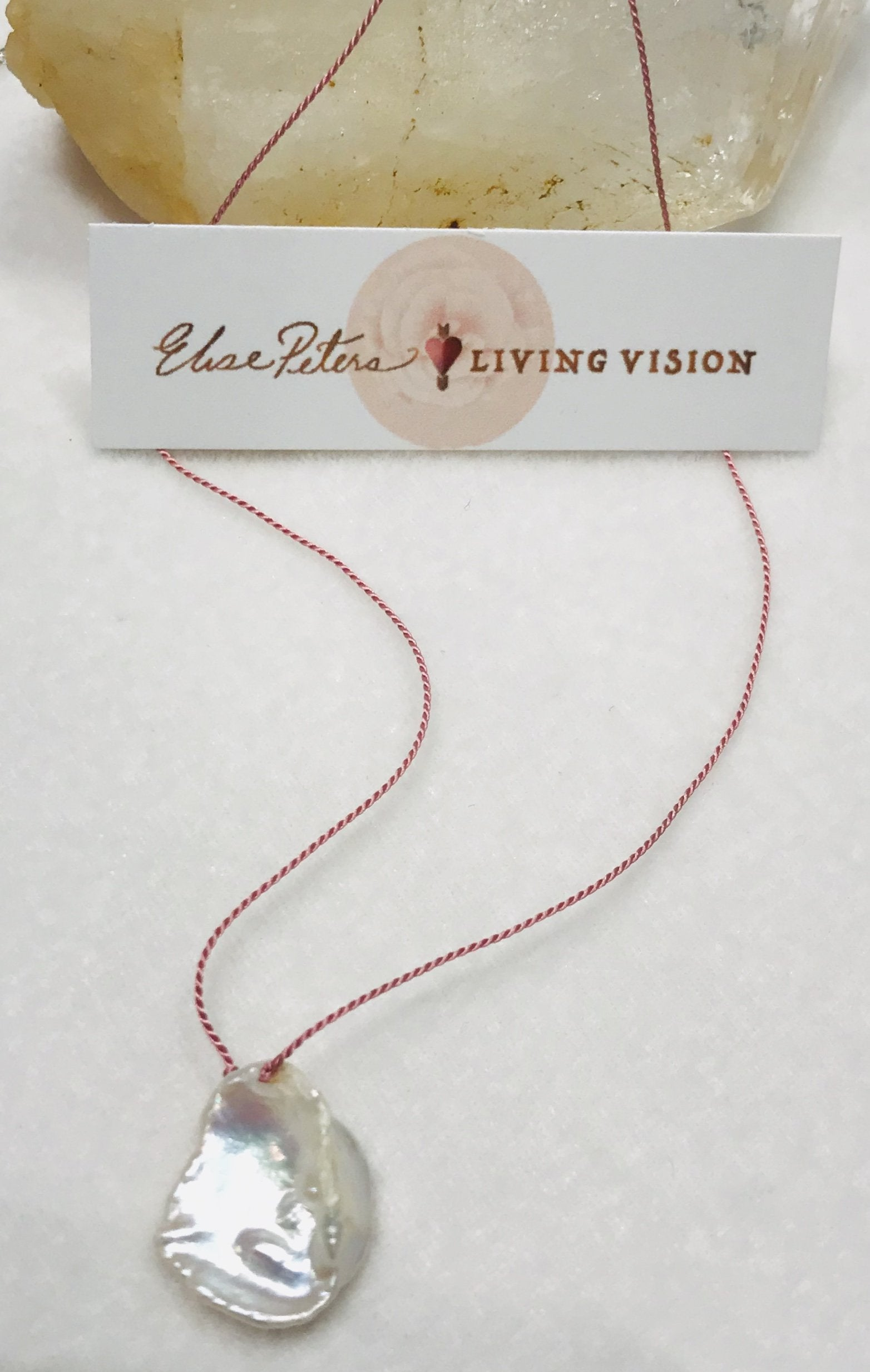Freshwater Pearl Single Drops - Necklace