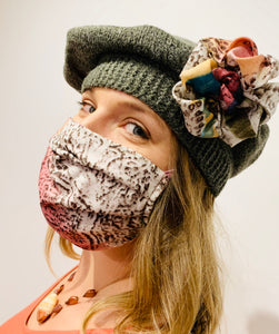 Artisan fall fashion forward hats/masks
