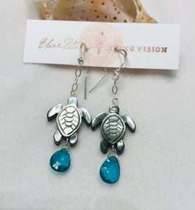 Turtle Song Earrings