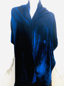 Silk Velvet Wrap in Various Colors