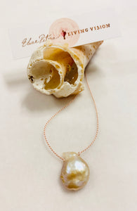 Petite Freshwater Pearl Single Drop