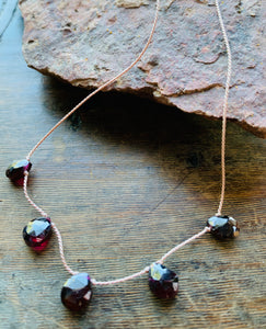 Garnet - Necklace