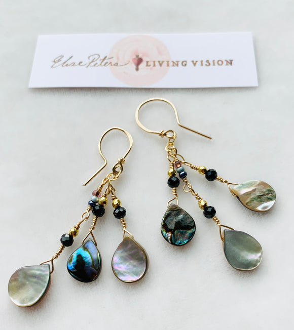 Dark Night Earrings