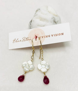 White Mother of Pearl Earrings *Multiple Options*