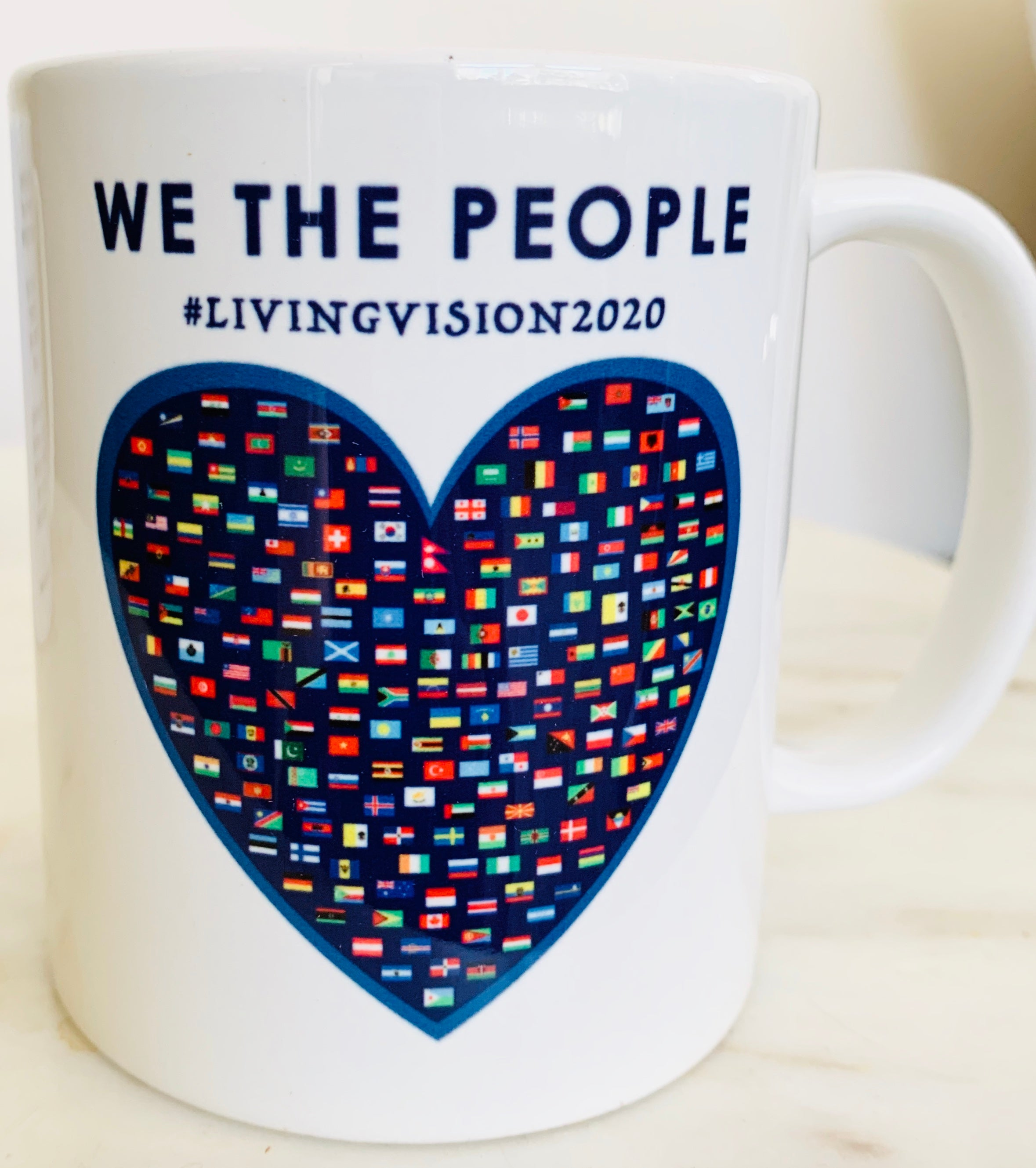 We The People Mug | Living Vision 2020