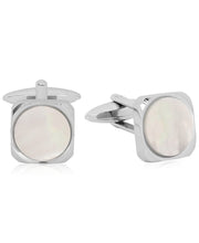 Load image into Gallery viewer, Sutton Stainless Steel and Stone Cufflinks