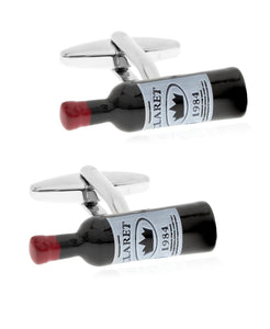 Sutton Wine Bottle Cufflinks