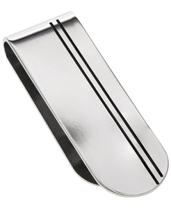 Sutton Stainless Steel Etched Money Clip