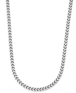 Men's Stainless Steel Curb-Link Chain Necklace