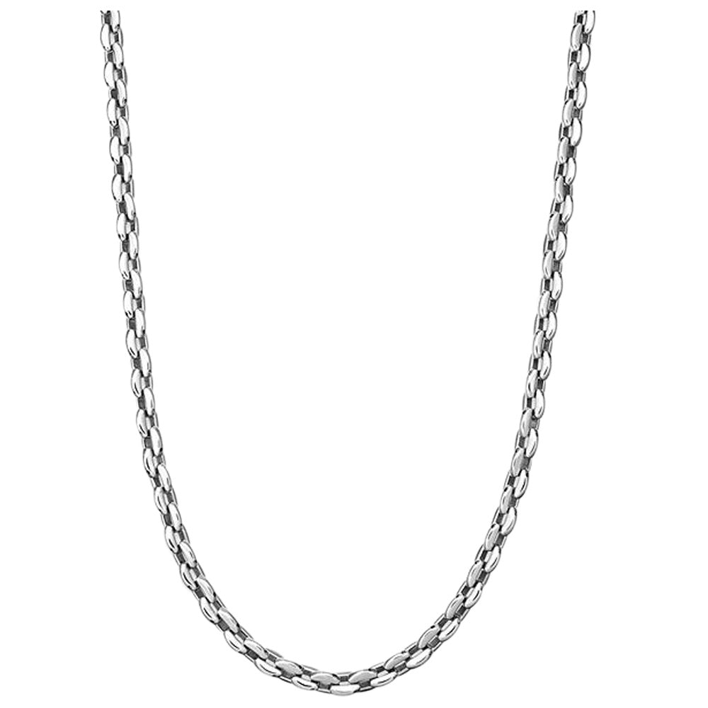 Men's Stainless Steel Razor Chain Necklace