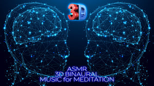 ASMR 3D BINAURAL Music for Meditation 💫 BRAIN Healing Music 🌈 Pineal Gland DMT Music