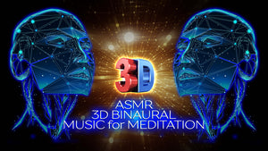 ASMR 3D BINAURAL Music for Meditation 💫 Full Restore All 7 Chakras at Once 🌈 12000 Hz ✚ 10000 Hz