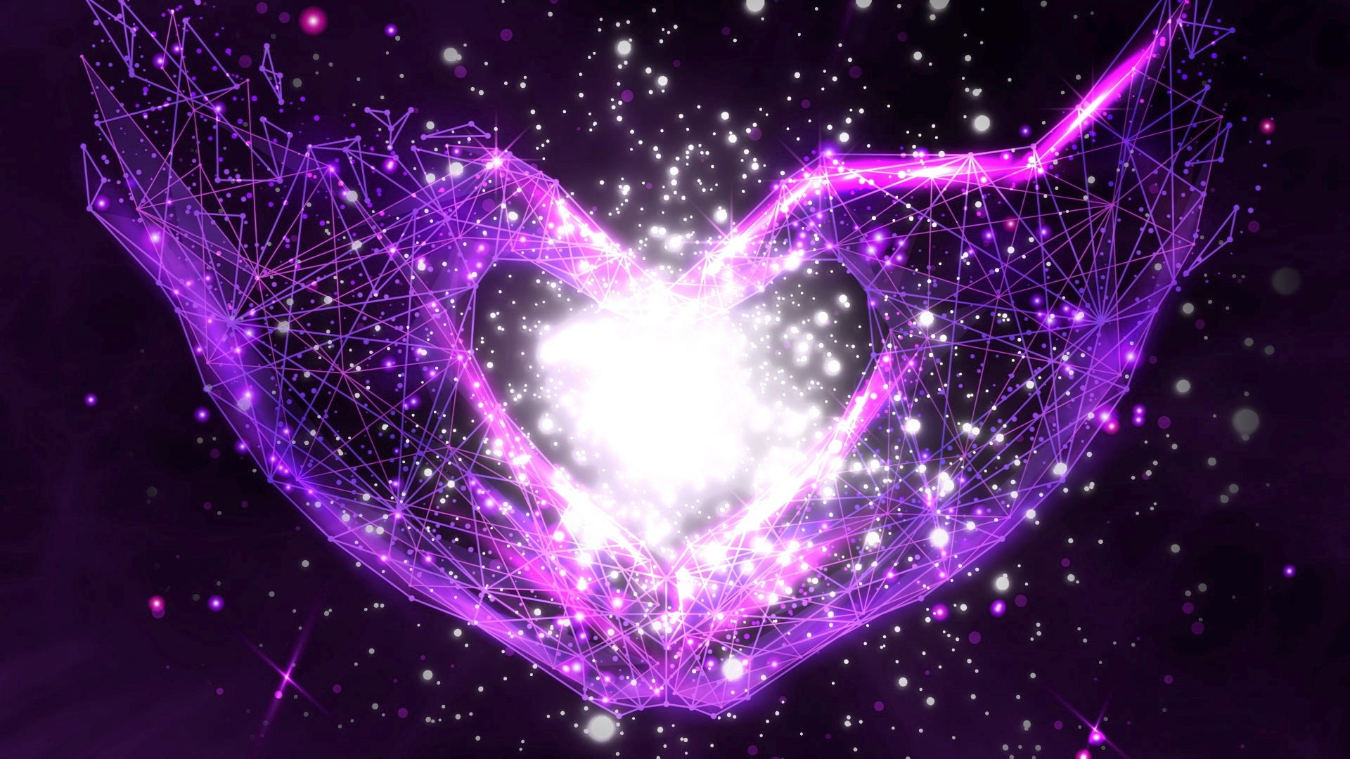 """Miracle Love"" Transform Life into Miracles ✨ Connection To Creation  ⚛️ 3D Quantum Formula Music"