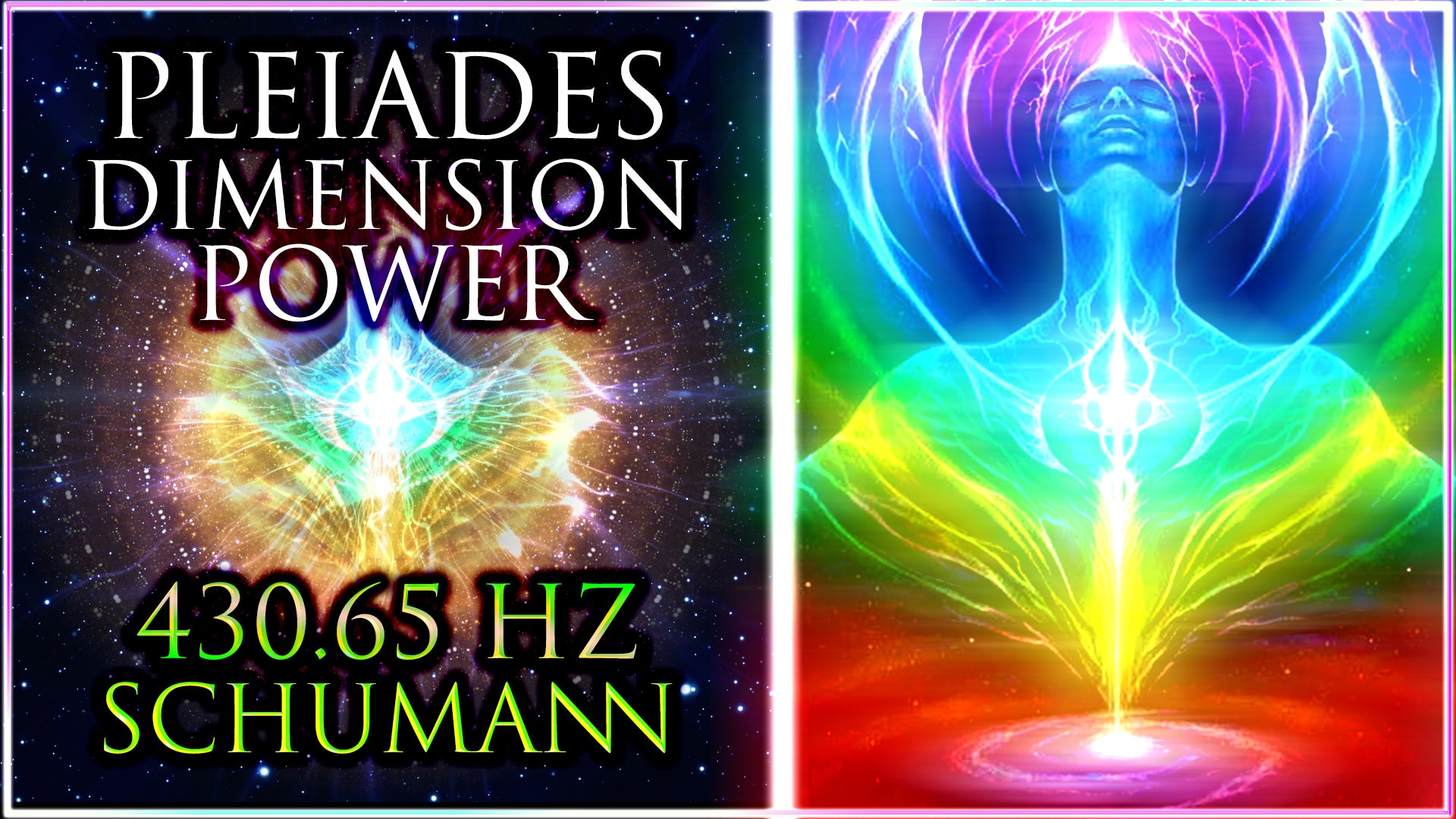 PLEIADES Dimension ꩜ 357 Hz Opening ✦ 681 Hz Connection ✦ 924 Hz Unity ꩜ 430.65 Hz Shamanic Drums