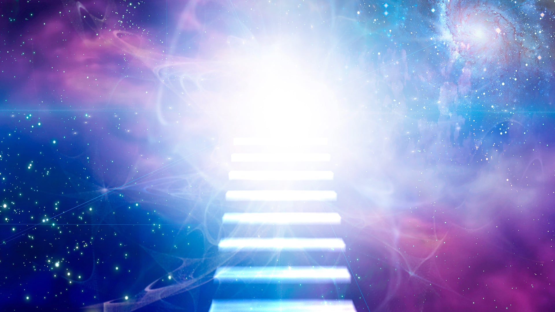 SPIRITUAL ENLIGHTENMENT 💫 All 9 Solfeggio Spiritual Journey Scales Tones 🌈 Solfeggio Matrix Music