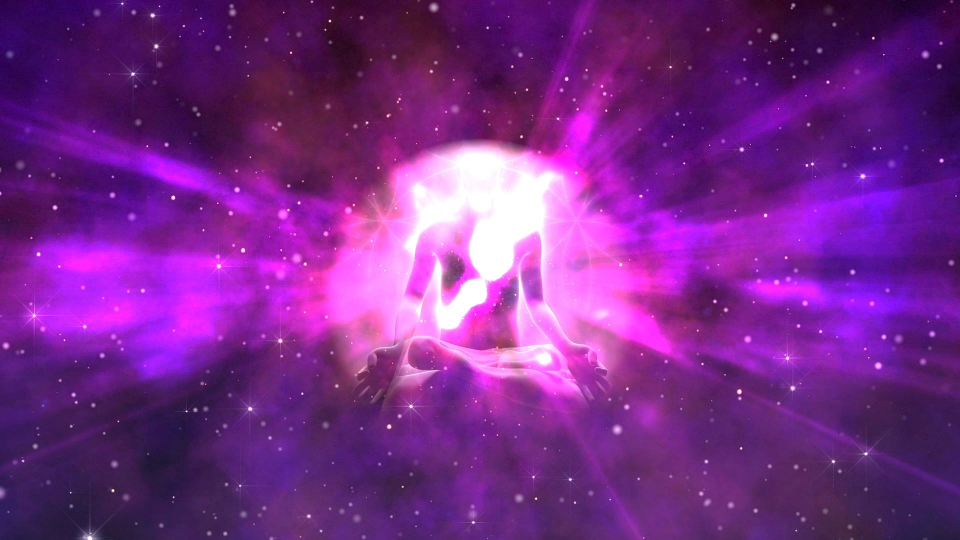 """ULTRA VIOLET FLAMES"" 💫 AURA Energy Healing Cleansing and Protection ⚛️ 3D Spiritual Healing Music"