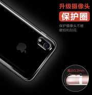 0.3mm Ultra Thin Slim Clear Soft TPU Case For IPhone IPhone X 10 Transparent Phone Cover For IPhone X