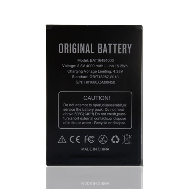 100% Original Backup DOOGEE X5 Max Battery 4000mAh Smart Mobile Phone For DOOGEE X5 Max + + Tracking No