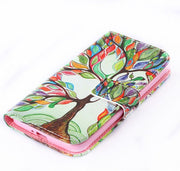 11 Colors Fashion For Samsung Galaxy A3 2016 A310 A3100 A310F Tower Owl Flower Cute Cover Wallet Stand Flip Leather Case