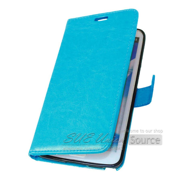 2015 New Arrival Soft Touch Deluxe Wallet PU Leather Case For Samsung Galaxy Note 3 III N9000 Flip Stand Phone Cover