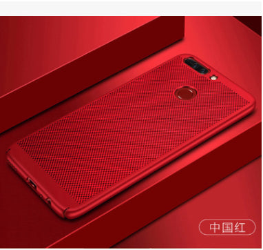 2017 Hard PC+Matte Phone Case Luxury Red Black For Huawei P8 P8 Lite 2017 P9 P10 Lite Case Back Cover