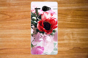 2017 New Fashion 10 Patterns Painting Colored Flowers Pears Soft Tpu Case For Fly FS501 Nimbus 3 / FS 501 Nimbus3 Cover Sheer
