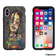 2018 Hot Singer Drake Rihanna Black Soft Silicone TPU Phone Case Cover For Apple IPhone X 8 8plus 6 6s 7 7plus 5 5s Coque Cases