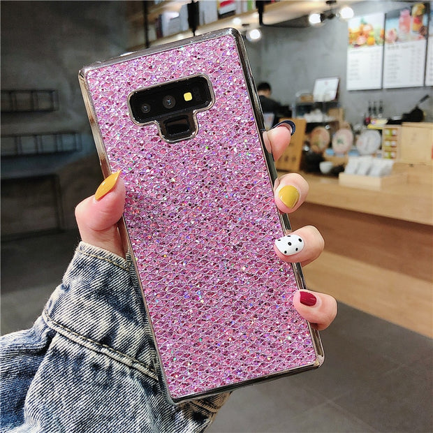 2019 New Case Soft TPU Shining Cover For Samsung Galaxy A8 A6 Plus 2018 A750 S8 S9 Note 3 4 5 8 9 J1 J2 J3 J5 J7 2017 Prime