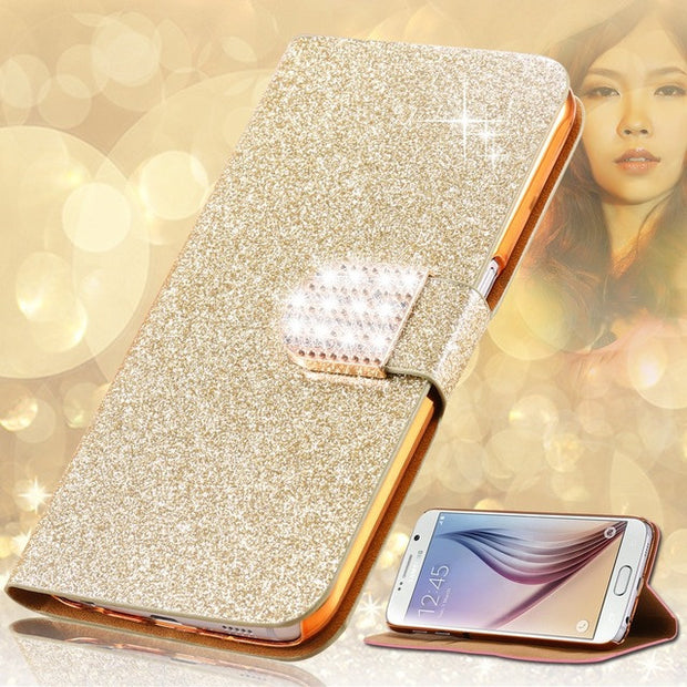 (3 Style) Alcatel A3 Case Silicon Luxury Flip PU Leather Fundas Phone Case Protective Back Cover Capa For Alcatel A3 5046Y 5046D
