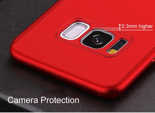 360 Full Protection Protective Capa Coque Back Cover Case For Samsung Galaxy S9 Note 8 S8+ S8 Plus Moblie Phone Bag Covers Cases