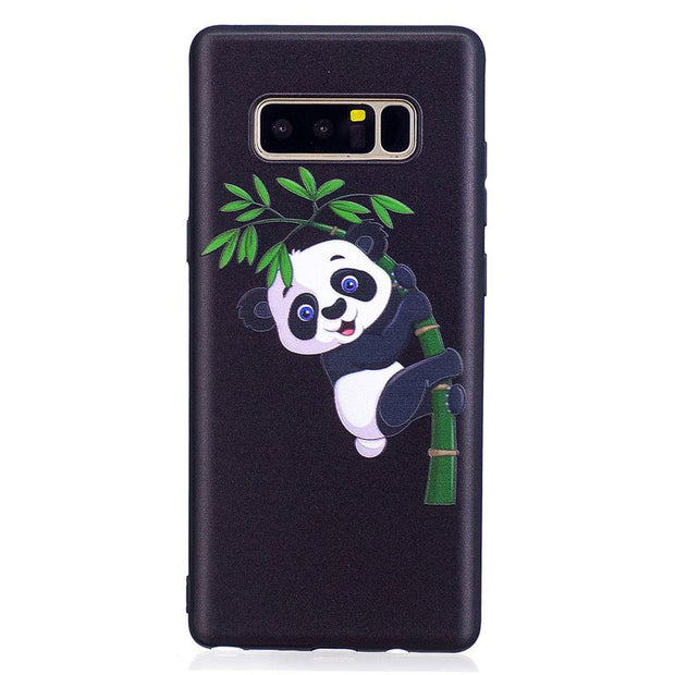 3D N950F SM-N950F Case For Samsung Galaxy Note8 Note 8 Baikal SM-N950F/DS N950F/DS SM-N950FD N950FD Phone TPU Soft Shell Cover
