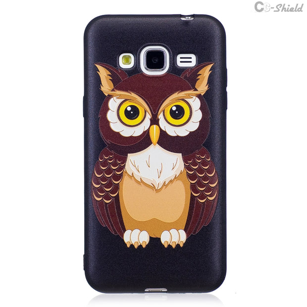 3D Silicone Case For Samsung Galaxy J 3 J3 2016 J320F/DS SM-J320F/DS J320Fn SM-J320Fn Case Phone Fitted Case TPU Frame Cover