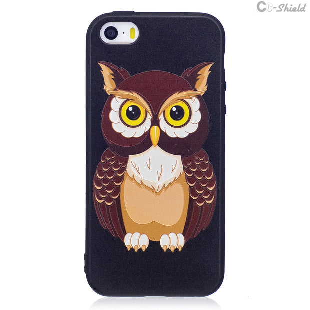 3D Soft Silicone Case For Apple IPhone 5S SE Phone Fitted Case For IPhone 5 S E IPhoneSE IPhone5S IPhone5 TPU Frame Core Cover