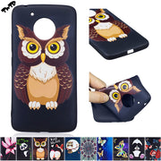 3D Soft Silicone Case For Motorola Moto G5 5th Gen XT1672 XT1671 Phone Fitted Case For Moto G 5 Th Gen TPU Frame Core Cover