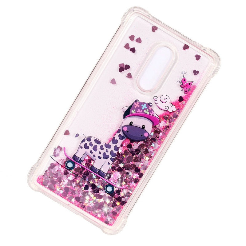 5.5 Xiaomi Redmi Note4 Note 4x Protective Case Bling Bling Cute Star Water Back Cover For Funda Xiaomi Redmi Note 4 Case Cover Half-wrapped Case Phone Bags & Cases