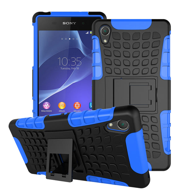 AIPUWEI CASE For Sony Z2 Case Luxury Silicone Plastic Hard Cover For Sony Xperia Z2 Bag Phone Cover For Sony Z2 L50 D6503 D6502