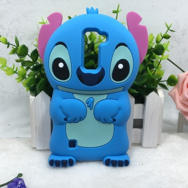 AIPUWEI For LG K7 Case Skin Silicone Cartoon 3d Stitch Cover Case For LG K 7 Cases Coque FOR LG K7 K 7 Case Skin Bag Soft Bag