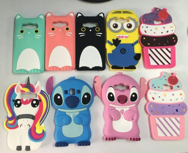 AIPUWEI For Samsung Galaxy A5 2016 Case A510 3D Unicorn Cat Soft ...