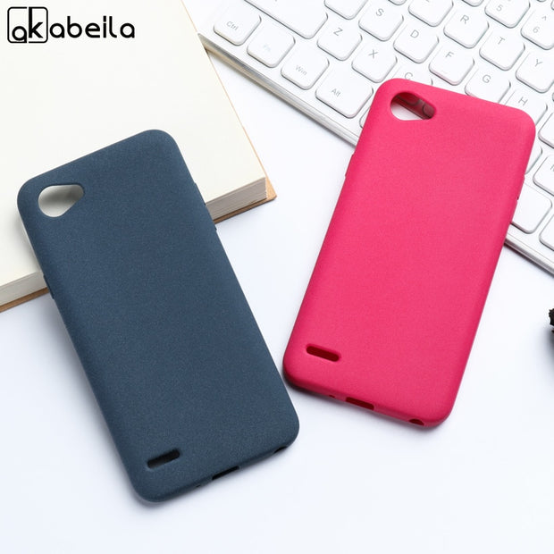 AKABEILA For LG Q6 G6 Mini M700N M700A M700DSK M700AN Q6+ Q6 Plus M703 X600 X600K X600S X600L Q6 A Alpha Q6a Plush Matte Covers