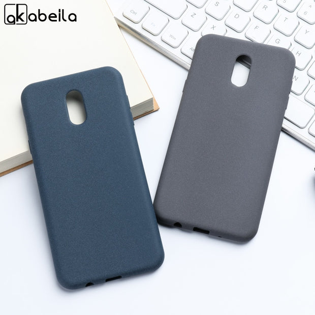 AKABEILA For Samsung Galaxy C7 2017 Case Silicone Soft TPU Cover Samsung J7 PLUS J7+ C710F/DS C8 C7100 Plush Matte Covers 5.5