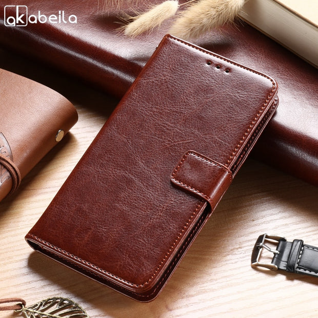 AKABEILA For Samsung Galaxy Grand Prime Case Wallet Flip Leather Silicon Cover G530F G530FZ G530Y G530H G530FZ/DS G5308 G5300