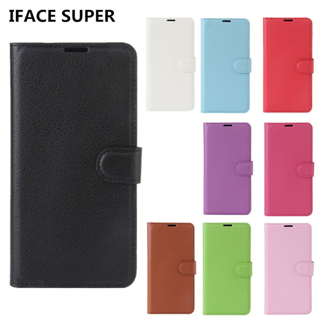 best service f464f 5bcab Alcatel 3 Case Alcatel 3 5052D Case Flip Luxury PU Leather Phone Case For  Alcatel3 5052D 5052A 5052Y 5.5 Inch Case Back Cover