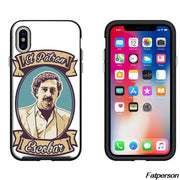 American TV Pablo Escobar Black Soft Silicone TPU Phone Case Cover For Apple IPhone 6s 6 7 8 8plus 5 5s SE X10 Coque Cases