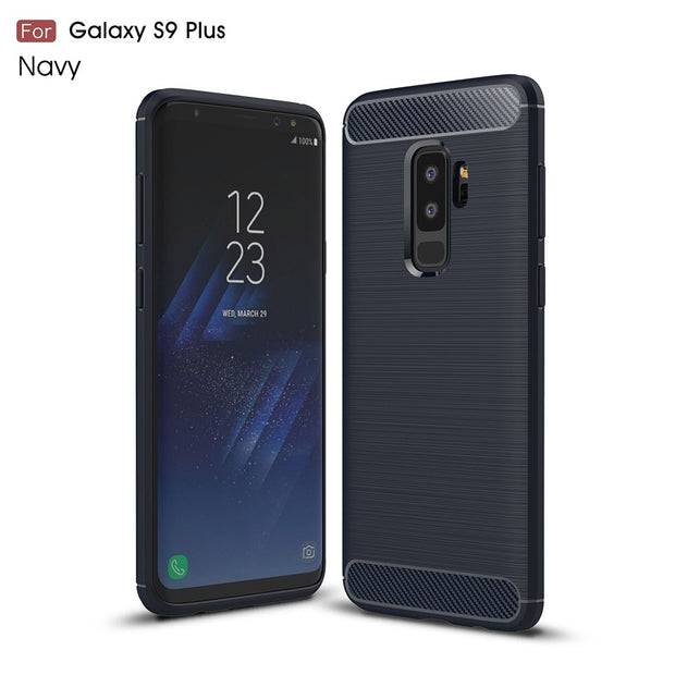 Anti-fingerprint Protective Back Cover Case For Samsung Galaxy Note 9 TPU Silicone Phone Shell For Samsung Galaxy S9 /S9 Plus
