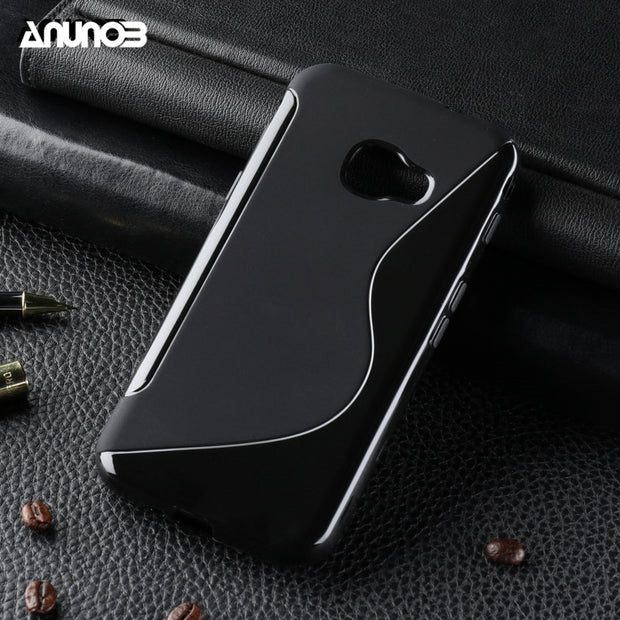 Anunob Cover For Samsung Xcover 4 Covers For Samsung Xcover 4 Silicon Case Anti-knock G390F SM-G390F Cases
