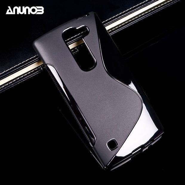 Anunob Mobile Phone Case For LG Spirit H440N Cases Cover C70 4G LTE H420 H440Y H422 4.7 Inch Silicon Covers Skin